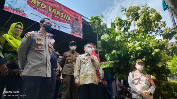 Vaksinasi Covid-19 yang Digelar Trader Peduli Indonesia Kota Metro Lampaui Target