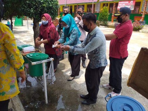 Kecamatan Bulok Tanggamus Peringati Hari Cuci Tangan Sedunia