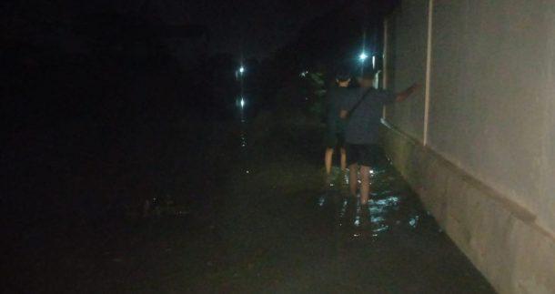 Banjir di Kelurahan Yosorejo Kota Metro, Warga Bingung Tak Kunjung Ada Solusi dari Pemkot