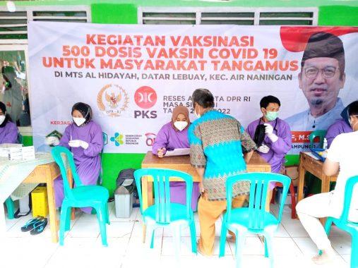 Al Muzammil Yusuf Dorong Percepatan Vaksinasi Covid-19 di Tanggamus